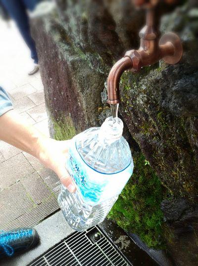 富士山の美味しい天然水をGet! Mt.Fuji Natural Water