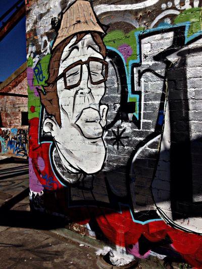 Graffitti Abandoned