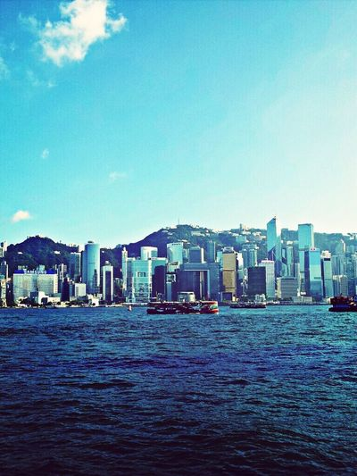 Hongkong trip last year (2) Avenue of Stars - by Sony Xperia Z Cityscapes Enjoying Life Travel HongKong