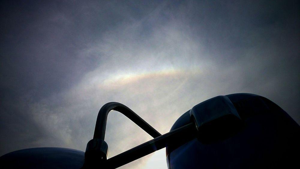🌈空はつながってる❗思いも通じるはずさ☺👌 洗車中🚚に見つけた🌈 Rainbow Prayer EyeEm Best Shots Clouds And Sky Sky Collection *CHIE* Kagoshima 🌈見にくくてごめんねf(^_^;