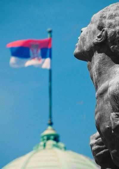 Macro_world Total_monuments Monumental_world Detail Politics And Government Statue Politics City Patriotism Blue Sculpture Flag Pride Historic Monument National Monument