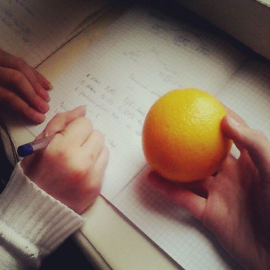 уроки апельсин химия