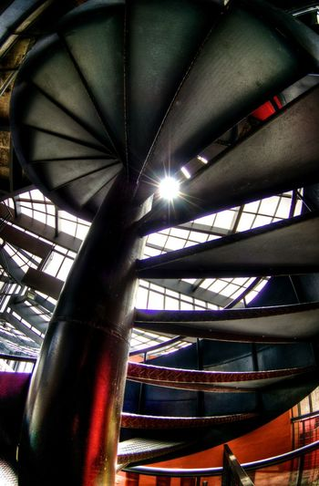 Built Structure Architecture Indoors  Low Angle View Vertical No People Day Stairs Curitiba, Brazil Curitibacool