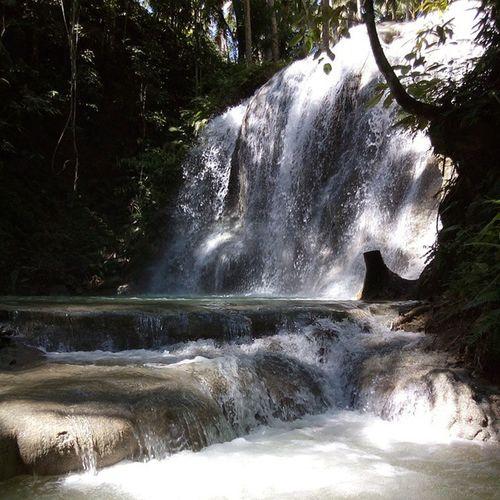 San Juan's Lugnason Falls. 10Dec Lugnason Bugwas Visitsiquijor Visitthephilippines itsmorefuninthephilippines ThePhilippines LACviewersent mysticsiquijor isladelfuego