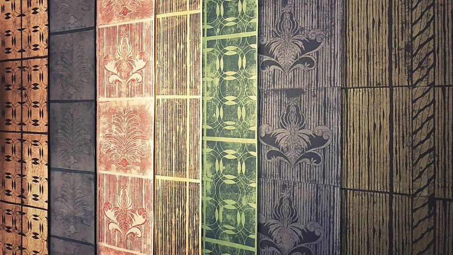 """""""Handmade Wallpaper zubersalzmann """" Heritage Woodenstamps Stamps Stencil Decor Interior Interior Design Designinterior Design Handmadewallpaper Designwallpaper Newwallpaper Wallpapers Pattern Wood - Material Indoors  Close-up Backgrounds No People Day"""