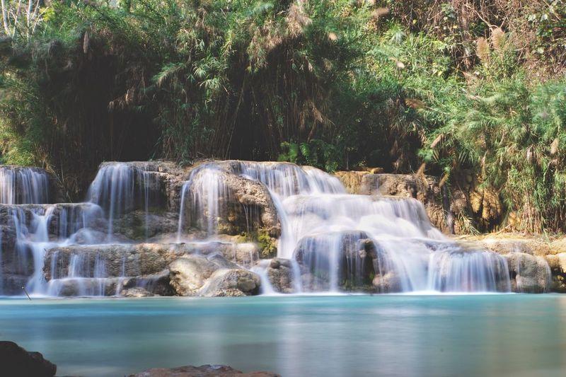 Laos   Kuang Si Waterfall   amazing nature First Eyeem Photo