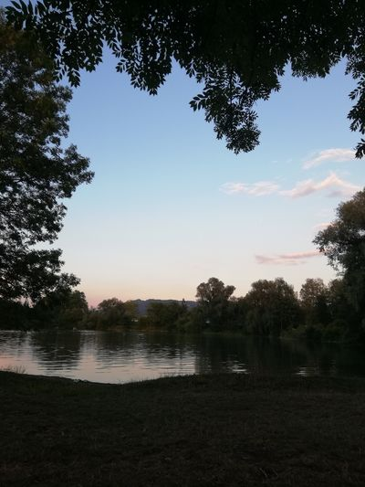 First Eyeem Photo Sonnenuntergang First Eyem Photo Sonne Landscape FirstEyeEmPic See Lake Tree Water Lake Reflection Forest Sky Silhouette Sunset Sun Scenics Horizon Over Water
