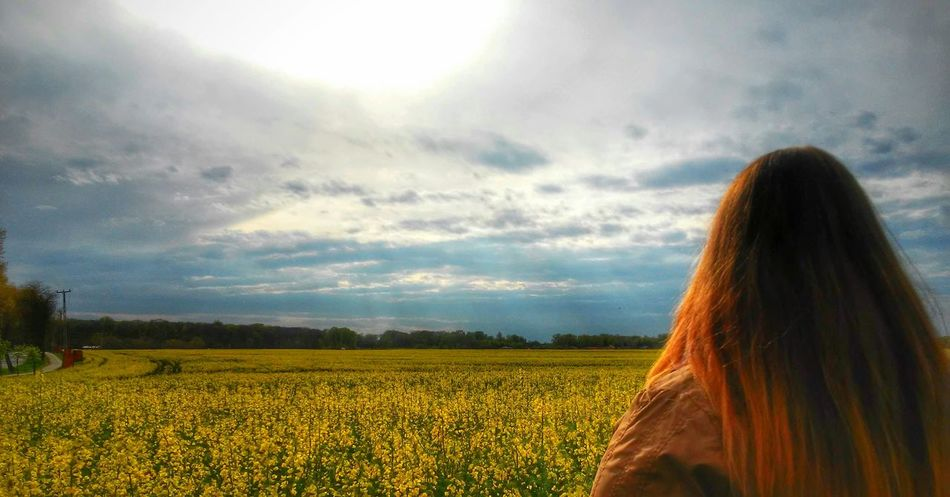 🌞😎 Field Fields Fieldscape Field Of Flowers Sky Skyhunter Taking Photos That's Me Hi! Hello World Countryside Flowers Colorful Clouds Cloudscape Sunshine Spring Springtime Likeforlike Follow4follow Hungary HDR Hdrphotography Photoshoot Photography