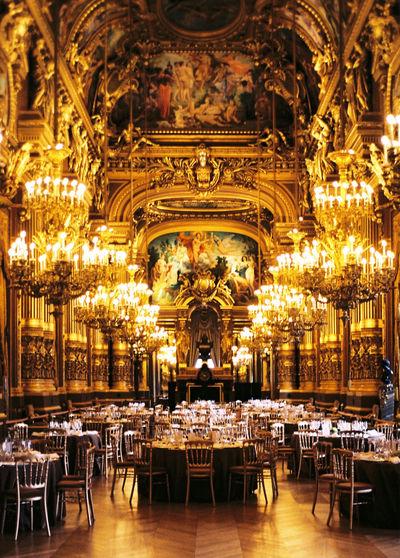 L'Opera Architecture Art Diner Lights Music Opéra Palais Garnier Paris Travel Destinations EyeEmNewHere