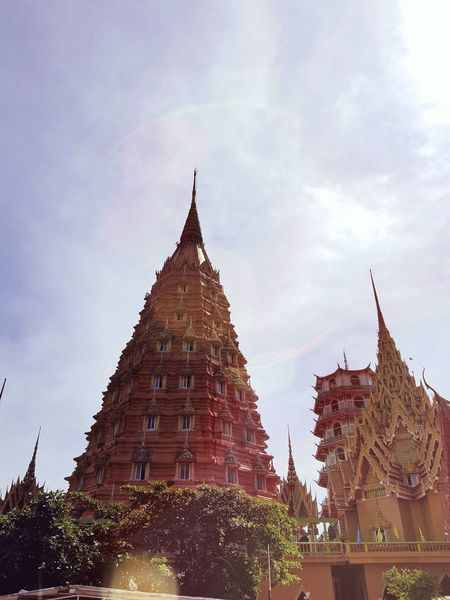 Temple - Building Traveling Thailand Filmcamera Filmisalive