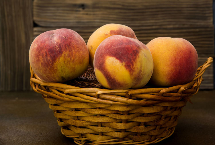 Peaches in a