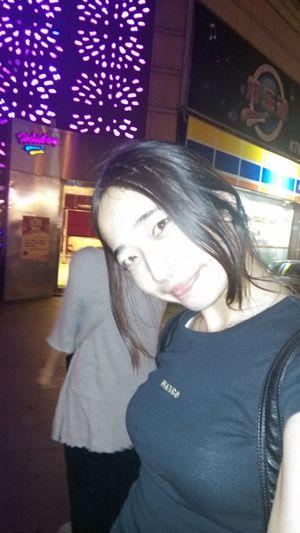 with friend go to ktv yayiii