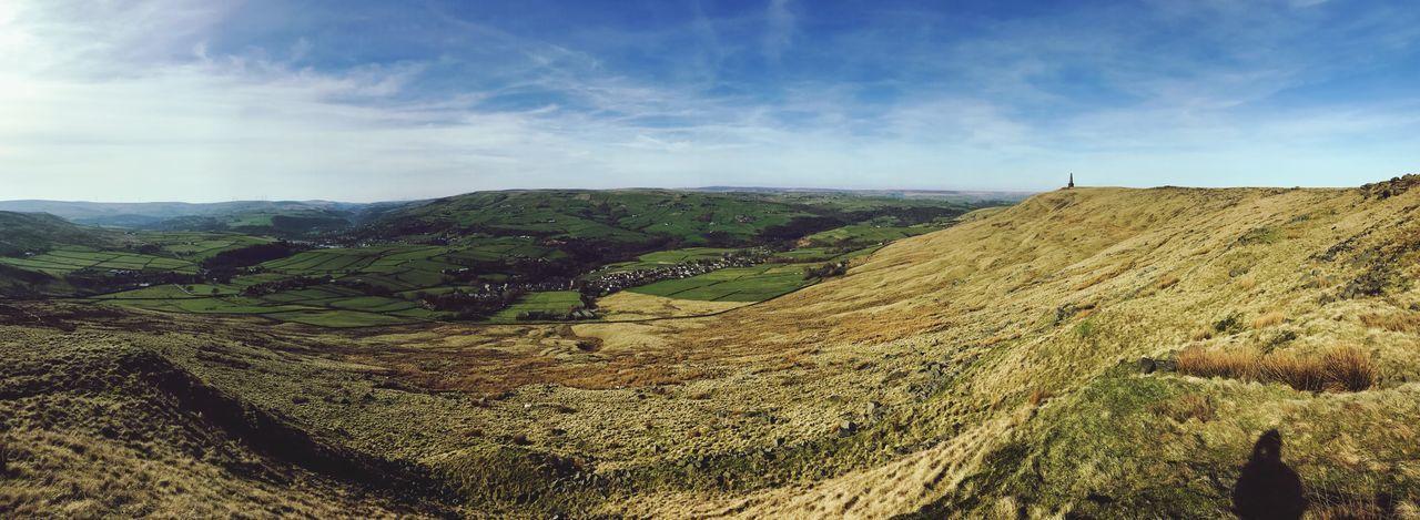 ~Stoodley Pike 2 (UK)~ Landscape Scenics Tranquil Scene Beauty In Nature Nature Rural Scene