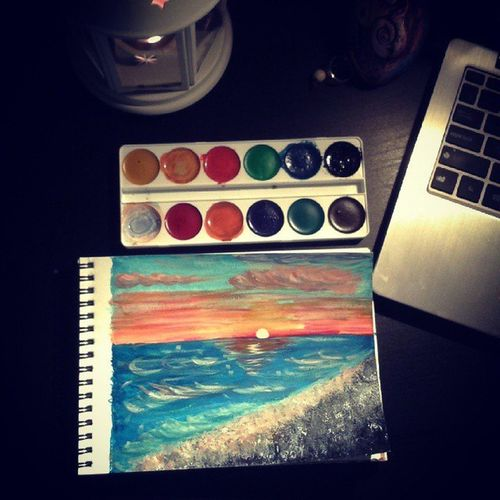 Lovedrawing Sea And Sky MyDrawing Eyem Best Shots Nature_collection Fine Art Photography Marulovesyou EyeEm Gallery Home Is Where The Art Is Colour Of Life
