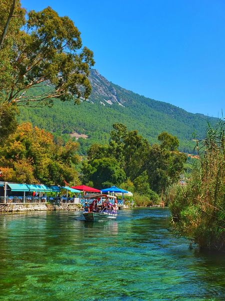 Water Tree Day Outdoors Mountain Nature Large Group Of People People Beauty In Nature Sky Reflection Nerede Azmak River Turkey Muğla Akyaka Clear Sky Holiday Destination Mountain Range Beauty In Nature Transportation Travel Destinations Hakandirik Riverside River Collection Huzur
