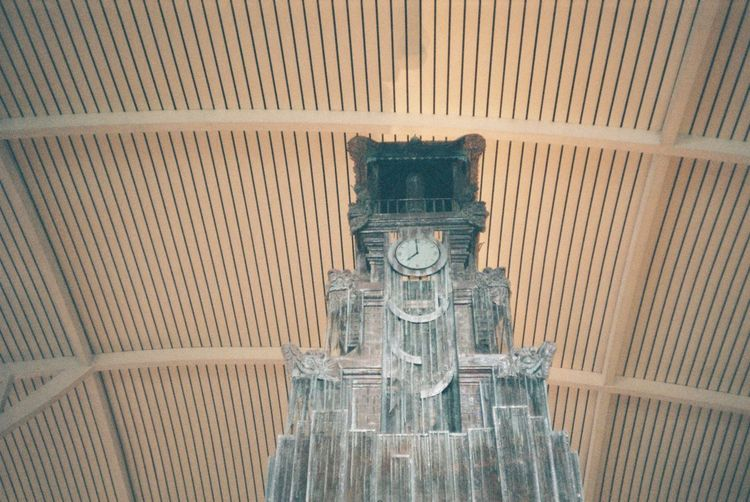 35mm 35mm Film INDONESIA Airport Architecture Art And Craft Built Structure Ceiling Craft Creativity Day Human Representation Indoors  Low Angle View Male Likeness No People Pattern Religion Representation Sculpture Spirituality Statue Wall - Building Feature
