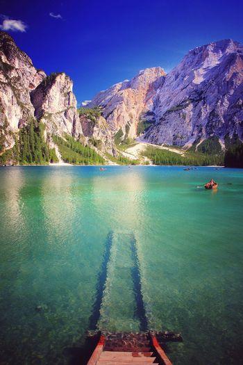 go Mountain Lake Lake View Drei Zinnen Tree Water Sea Mountain Beach Blue Sky Turquoise Colored Calm