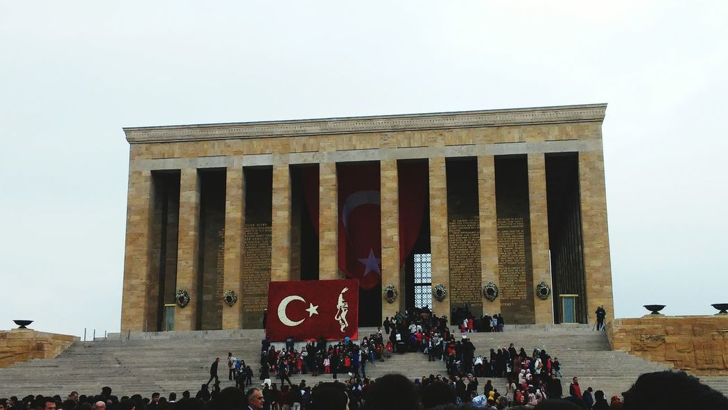 Ataturk Is My Hero Ankara/turkey Anitkabir Museum