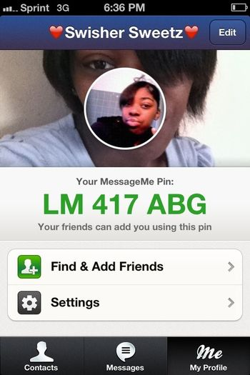 Add Me On Message Me