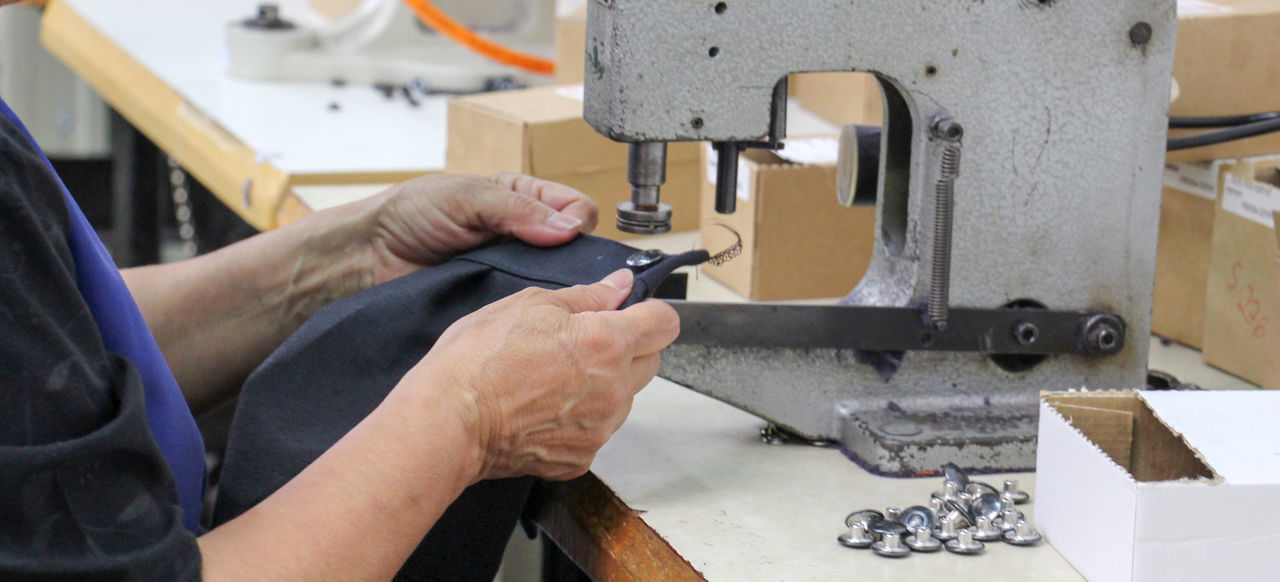 textile industry Clothes Fabric Female Industry People Sewing Sewing Machine Textile Industry Woman Woman At Work Worker