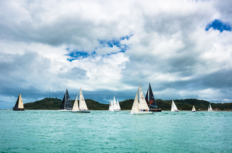 Regata Aratu Maragojipe 2016 Aratu Bahia Beauty In Nature Cloud Cloud - Sky Cloudy Day Maragojipe Nature Ocean Outdoors Regata Salvador Scenics Sky Water