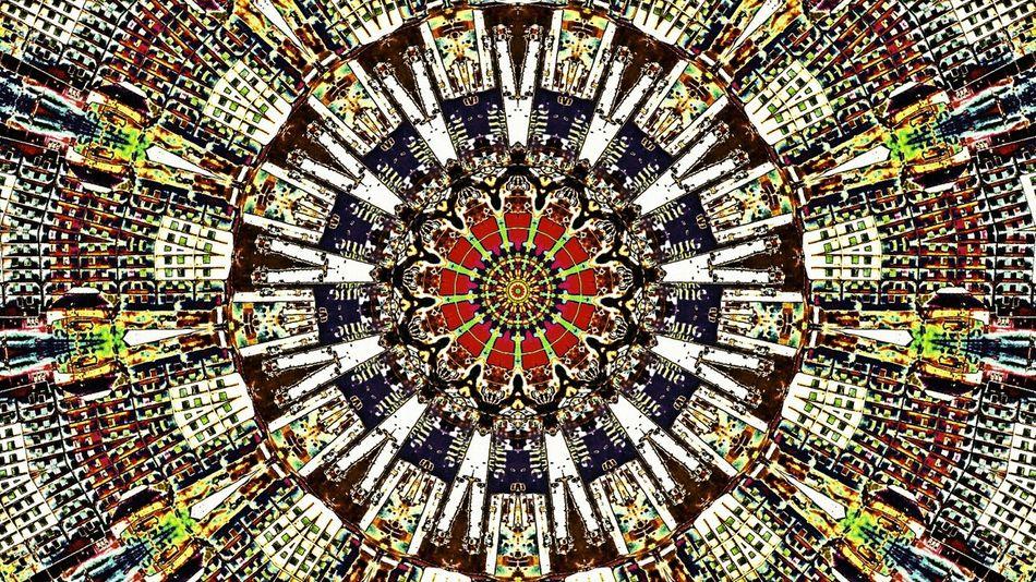 Kaledescope Abstract Photo Manipulation Digital Art