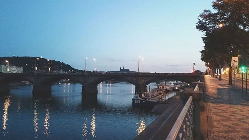 Is anyone there? Prague Praha City Palackeho Namesti Square Bridge Most Vltava River Europe Instashot Vscocam Vscocze Hashtags Whatever