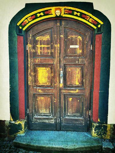 What's behind of this door in #Eisenach?