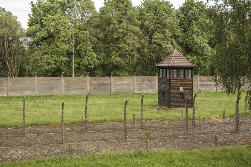 Auschwitz-Birkenau Nazi Concentration Camp Auschwitz  Barbed Wire Holocaust Remembrance Auschwitz Birkenau Guard House Holocaust Holocaust Memorial Prison