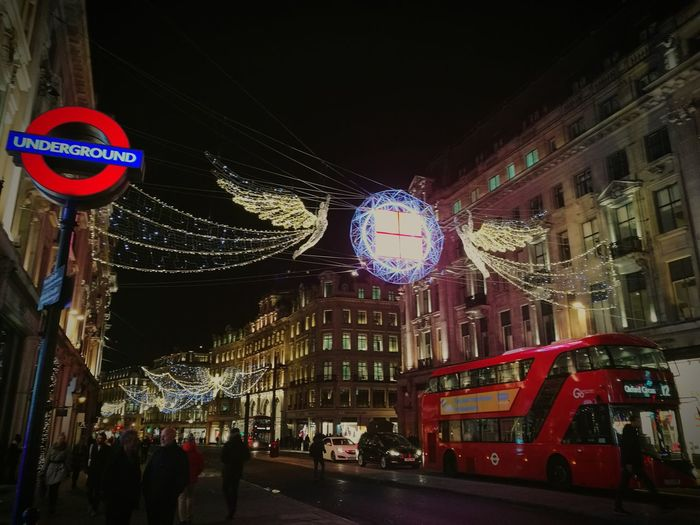 Christmas Lights Celebration Outdoors LONDON❤ Love ♥ Christmas Spirit