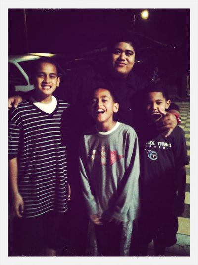 WITH THE FAOA BOYS ON NEW YEAR'S EVE..... Family Welcome 2013