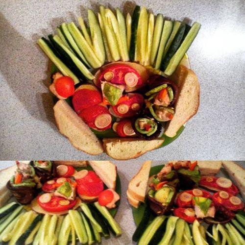 ужиндлялюбимой юбилейчик овощигриль овощи филекуриное баклажаны кабачок картофель томаты огурец балгарскийперец здороваяеда своимируками Xмесяца вместе