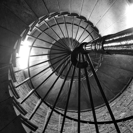 Stairs to the colonnade of St. Isaac's Cathedral. Saint Petersburg, Russia Architectural Feature Arhitecture Built Structure Circle Design Geometric Shape Historical Historical Building No People Sacral Architecture Saint Petersburg, Russia Spiral St. Isaac's Cathedral Stair The Magic Mission Battle Of The Cities Monochrome Photography Welcome To Black The Architect - 2017 EyeEm Awards EyeEm Selects Russia Saint Petersburg