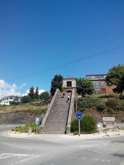 Blur Sky Camino CaminodeSantiago El Camino De Santiago Jakobsweg Pilgern Pilgrimage Portomarin Stairs Treppen Way Of Saint James