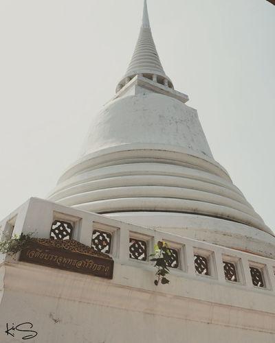 เจดีย์ Taking Photos Enjoying Life Relaxing Hello World Thailand Holiday Temple วัดสุวรรณดาราราม จ.พระนครศรีอยุธยา