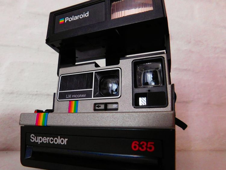 Polaroid Camera Polaroid Supercolor Grey