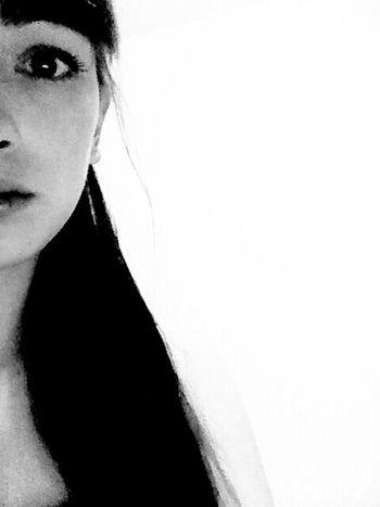 Blackandwhite That's Me I Am My Face People Eye Ulan-Ude