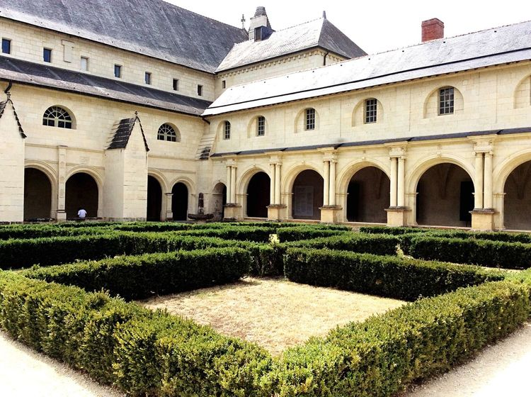 Architecture Arch Built Structure Building Exterior Outdoors Day Fontevraud Abbey