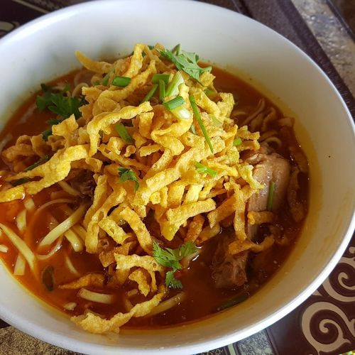 Food And Drink Food Freshness Ready-to-eat Chiang Mai   Thailand Kaosoi bestfood