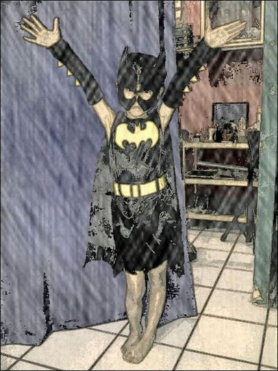Fun Nice Style Captured Moment Batgirl From IndaADDICTION Cave...