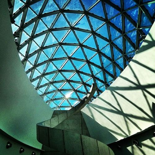 Skylights Museumspaces Museumscafe Triangles Architecture @thedali