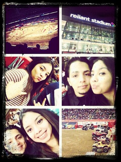In Our Date Me And My Boyfriend...at Monster Trucks