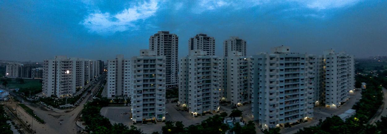 Godrej Garden city, Ahmedabad Photographers_of_india Streetphotographyindia Storiesofindia#desi_diaries Indianphotography Indiapictures Indianphotographyclub Yourshot_india Wildlifephotography _soi#g_o_i Built Structure Godrej Skyscraper Business Finance And Industry Cityscape Night City Urban Skyline Apartment