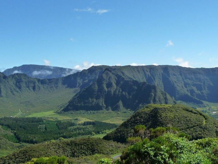 The Culture Of The Holidays Mountain Tranquil Scene Landscape Reunion Island Beauty In Nature Piton Des Neiges Plaine Des Cafres