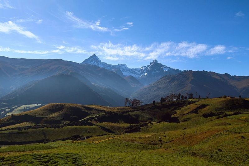 Nevado el Altar Mountain Tranquil Scene Beauty In Nature Nature Photography AllYouNeedIsEcuador Paradise