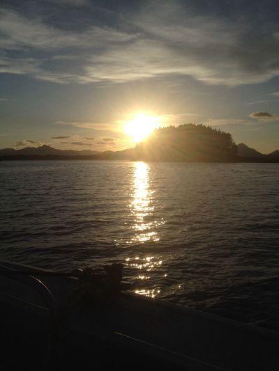 Kodiaks sunsets are beautiful! First Eyeem Photo