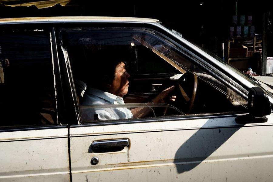 mustache The Week on EyeEm Streetphotography Stretphoto Street Transportation Car Mode Of Transport One Person Land Vehicle Only Men One Man Only