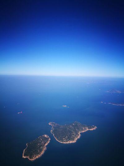 Sky Blue Nature Beautifulsky Island View  HongKong Birdeyeview Viewfromthetop Viewfromabove