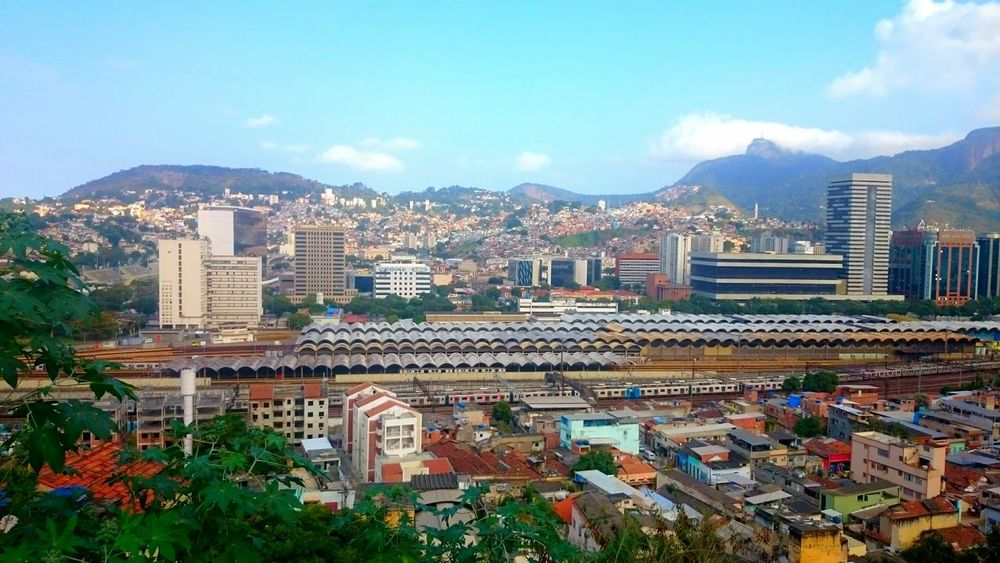 Cityscape City Urban Skyline Downtown District Brazil Rio De Janeiro Favela Urbanscape Cityscapes City View  City View  City Life Streetphotography Urban Photography Architecture_collection Travel Business Finance And Industry