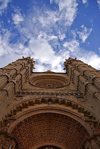 Architecture Clouds Cathedral Enjoying The View Clouds And Sky SPAIN Lensmade.net